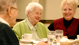 Portrait of residents in an LSSI Supportive Living Facility