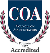Accredited by the Council on Accreditation (COA)