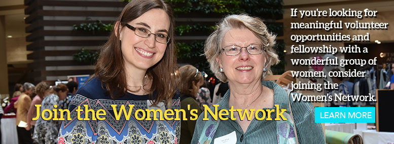 If you're looking for meaningful volunteer opportunities, join the Women's Network