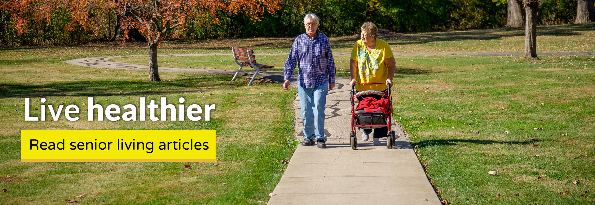 Live healthier: read senior living articles