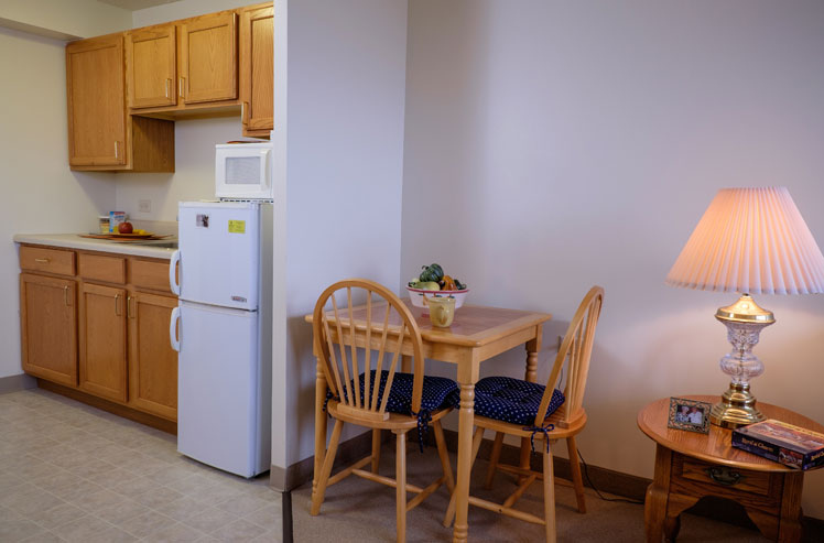 Kitchen in our Joliet supportive living arrangements