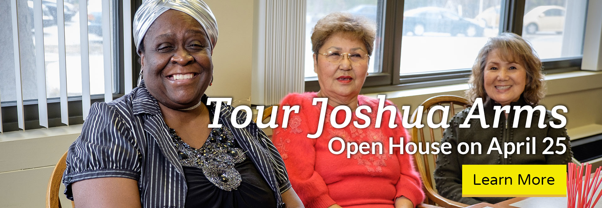 Tour Joshua Arms - Open House on April 25. Click here to learn more!