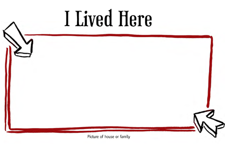 Preview of Lifebook Page: I Lived Here