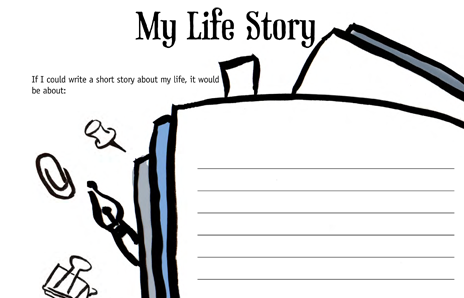 Preview of Lifebook Page: My Life Story