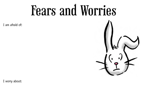 Preview of Lifebook Page: Fears and Worries