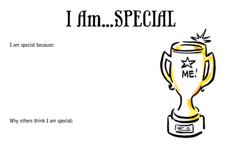 Preview of Lifebook Page: I Am...Special